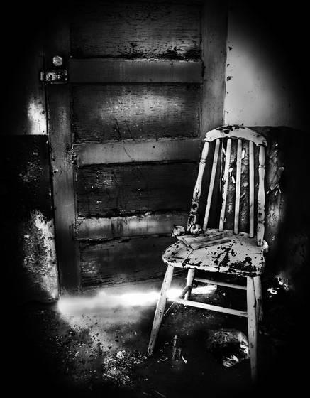 The light beneath the door