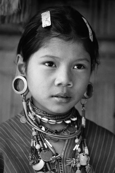 Kayaw child