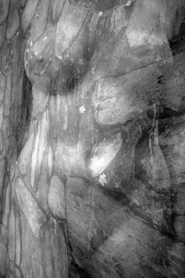 Torso stone abstract