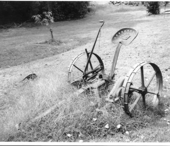 Old tiller