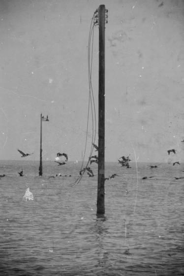 Poles in the sea
