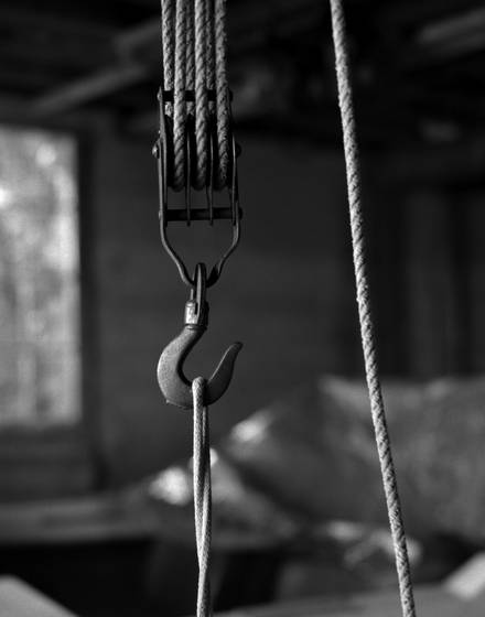 Hook and pulley