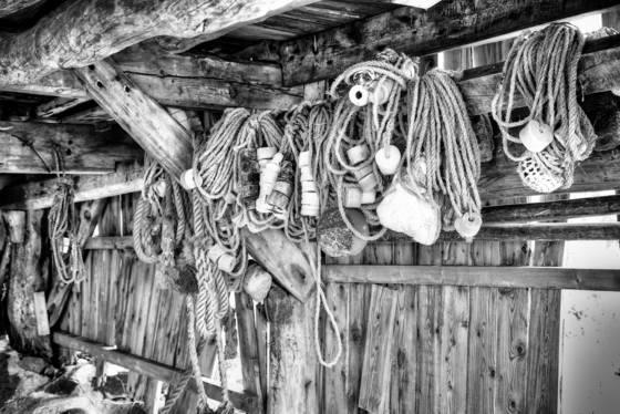 Abandoned boathouse  2