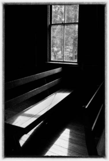 Church bench