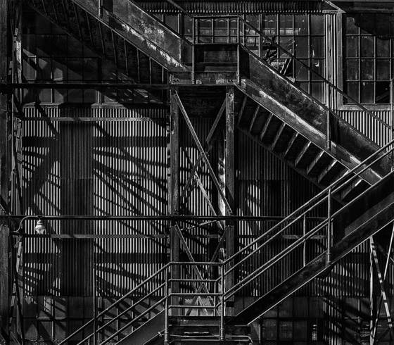 Pier 70 stairs