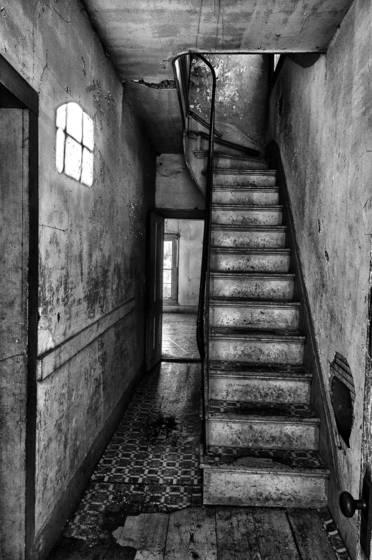 Bannack stairs  1 2010