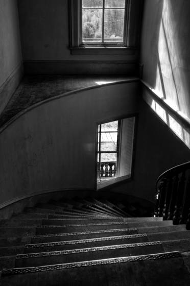 Hotel meade stairs  2 bannack st pk