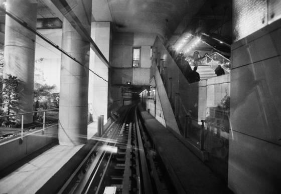On the 14 metro line
