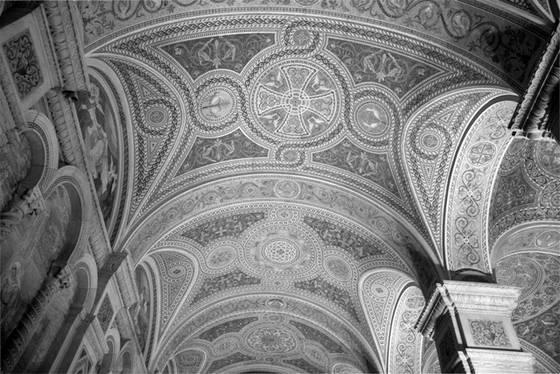 Basilica archway