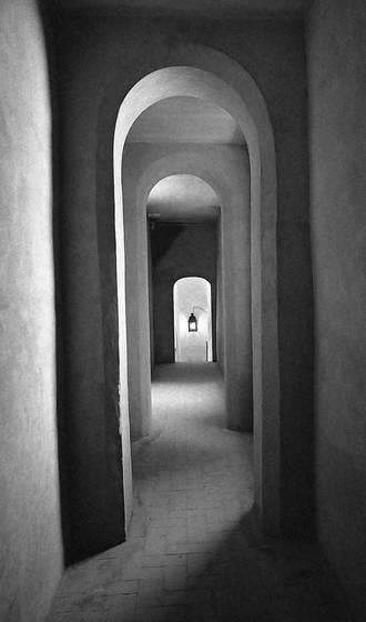 Spanish hallway