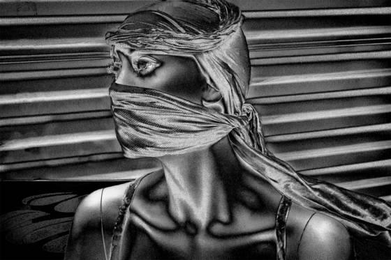Masked mannequin