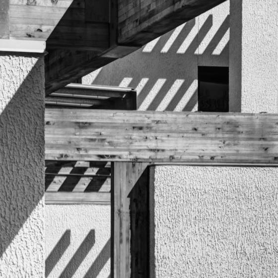 Building and shadows
