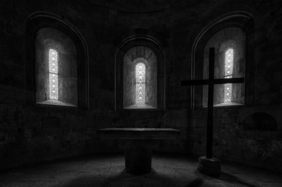Altar thoronet abbey
