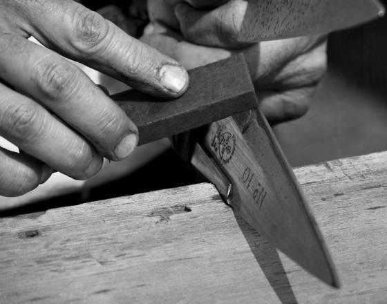Shear sharpen