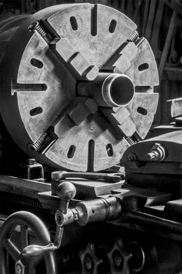 Railtown lathe