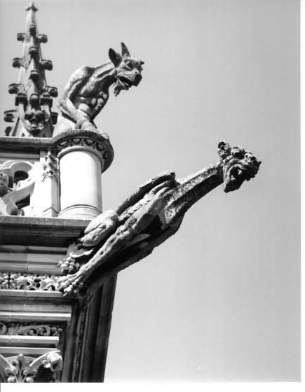 Gargoyle on top of biltmore