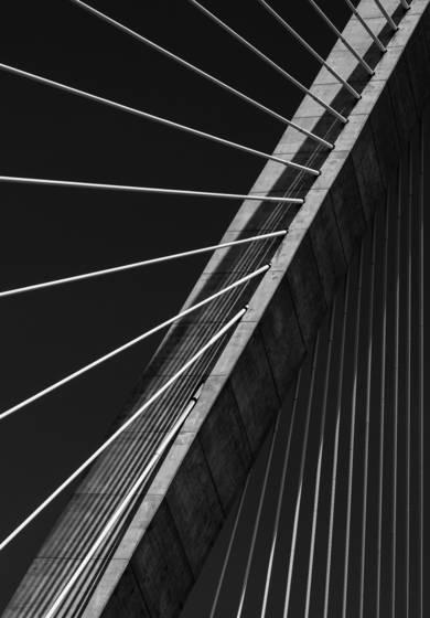 Ravenel bridge detail 1