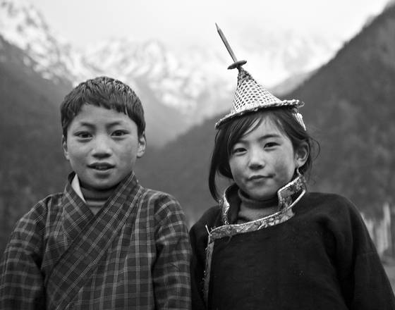 Siblings in laya