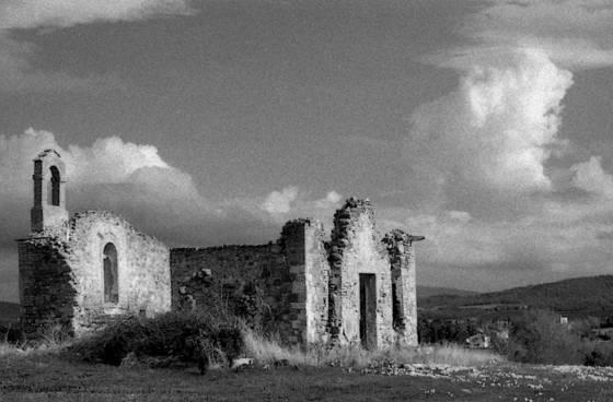 Tuscany ruin