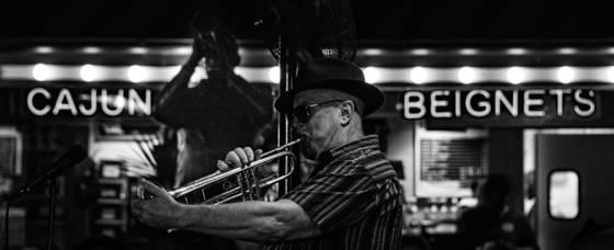 Man with a horn
