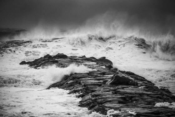 Sandy coming