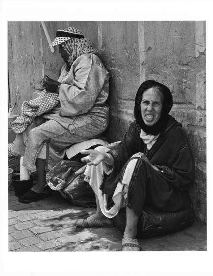 Seamstress and beggar