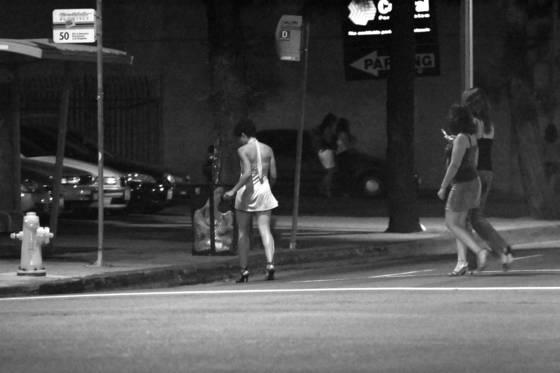 Girls downtown
