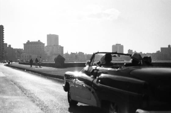 Buick on the boardwalk