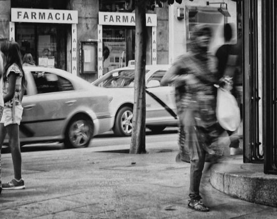 The street corner  01