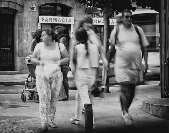 The street corner  08