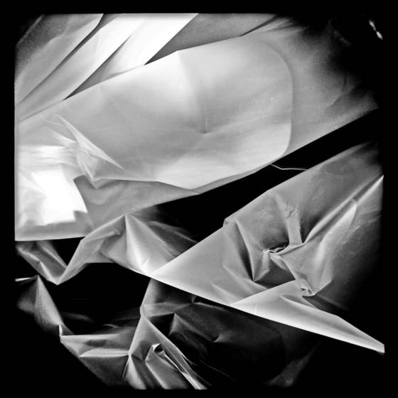 Plastic bag abstract