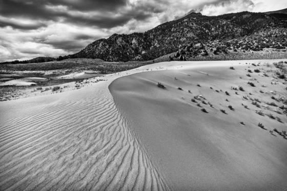 Little medano dunes