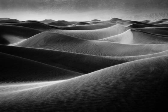Death valley dune study
