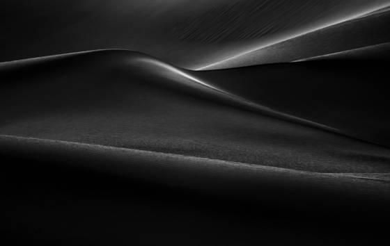 Death valley dune study