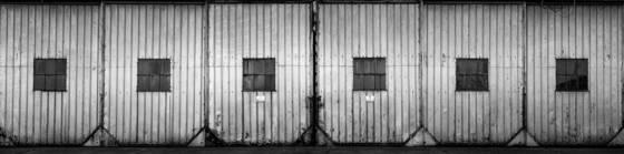 Airport hanger doors