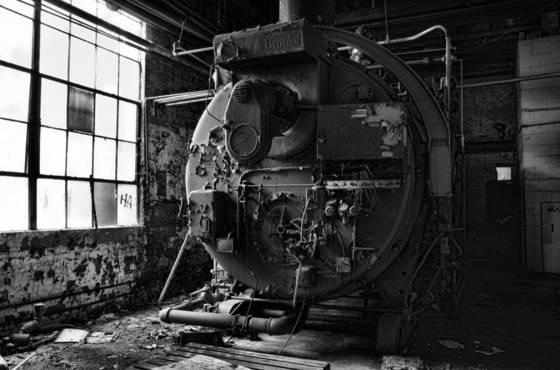 Boiler room  2   abandoned chemical factory