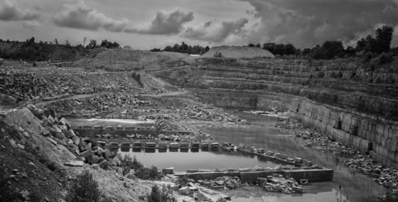 Limestone quarrying 06