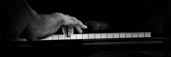 Jazz tickling the ivory