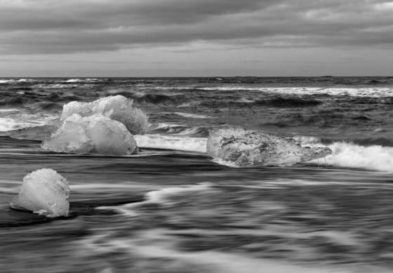 Bretharmerkursandur iceburg beach