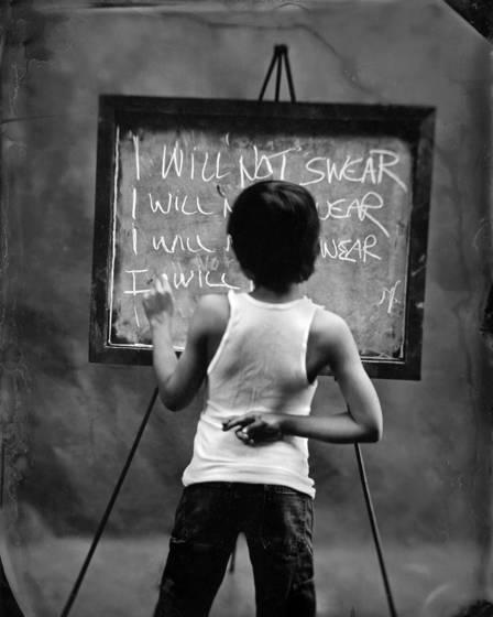 I will not swear