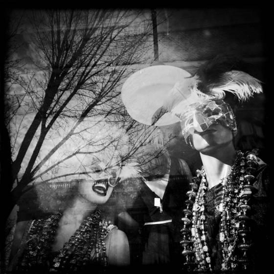 Mannequin window reflection  491
