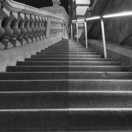 Classical versus contemporary handrails