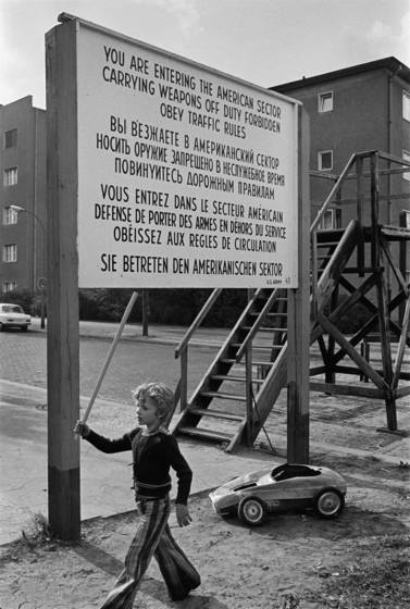 18  boy near checkpoint charlie
