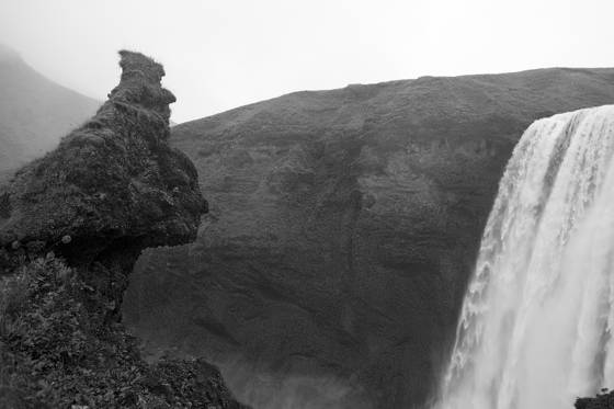 Guardian of the falls