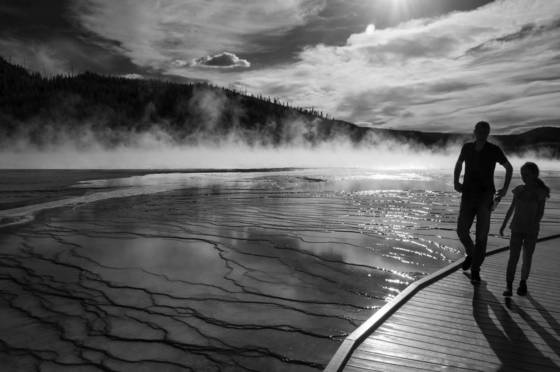Boardwalk grand prismatic spring
