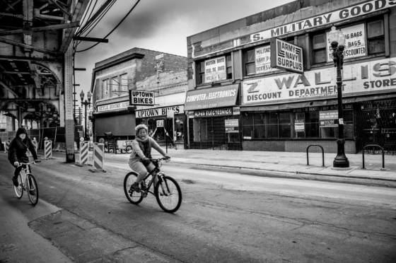 Uptown bike