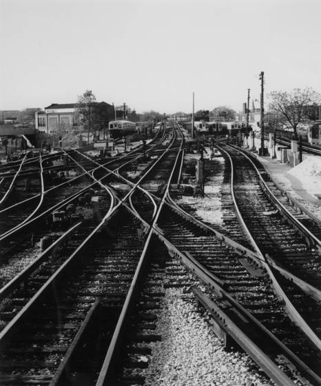 Chicago transit authority tracks