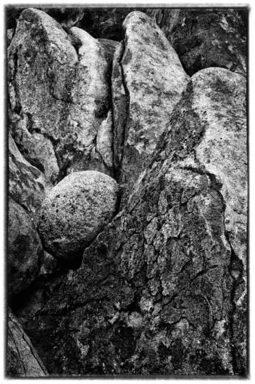 Oval rock