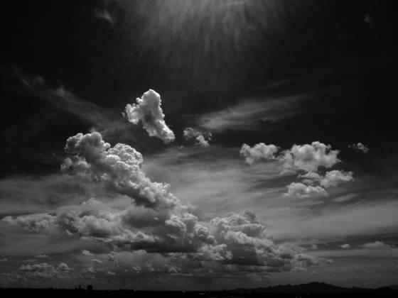 Clouds get in my eyes