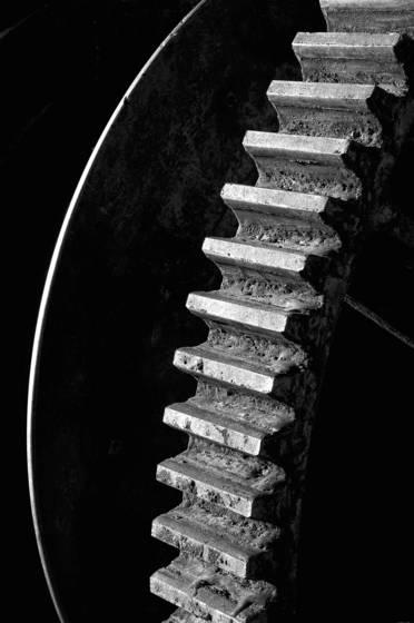 Old machine detail